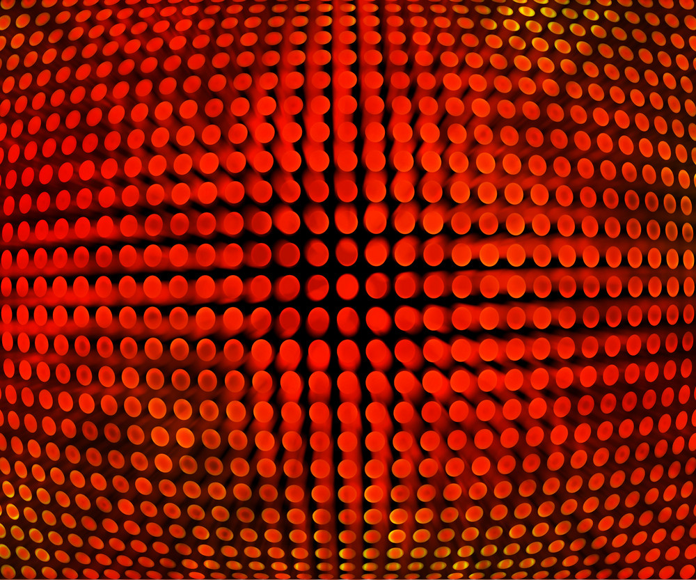 Red Disco Background Texture