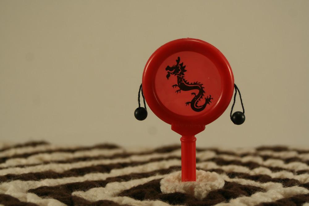 Red Dragon Decoration