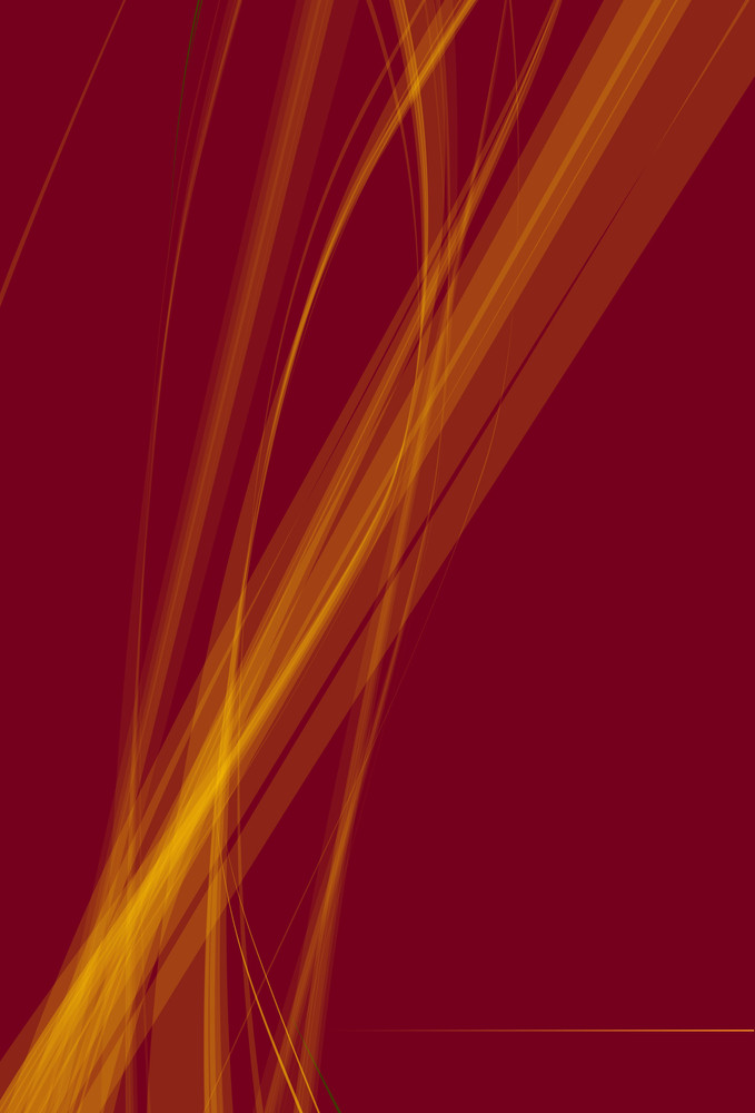 Red Flame Template. Vector.