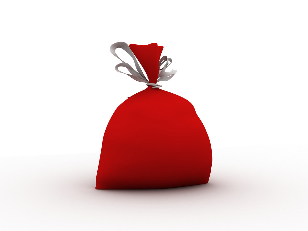 Red Gift Sack