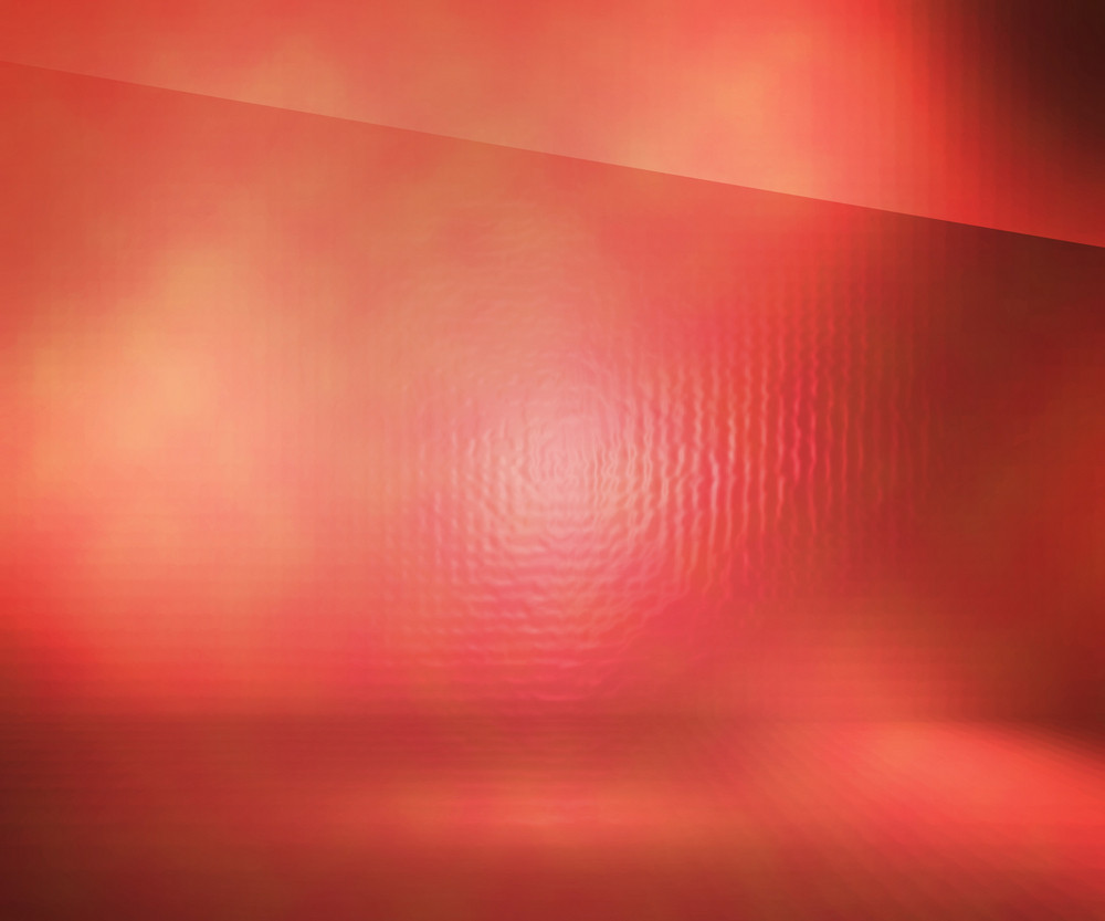 Red Glass Stage Background
