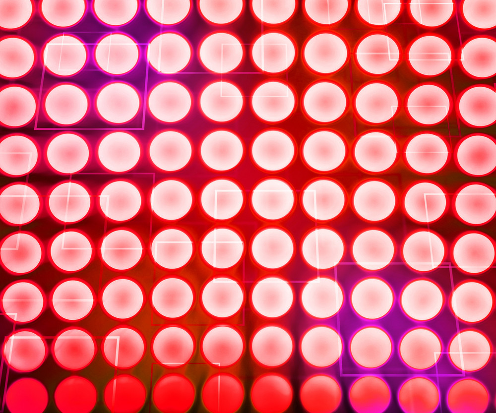 Red Light Abstract Texture Background