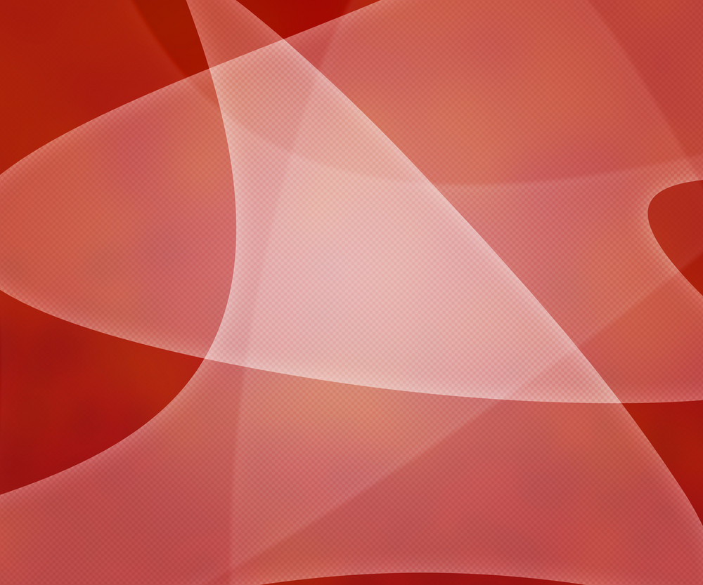 Red Light Shapes Background