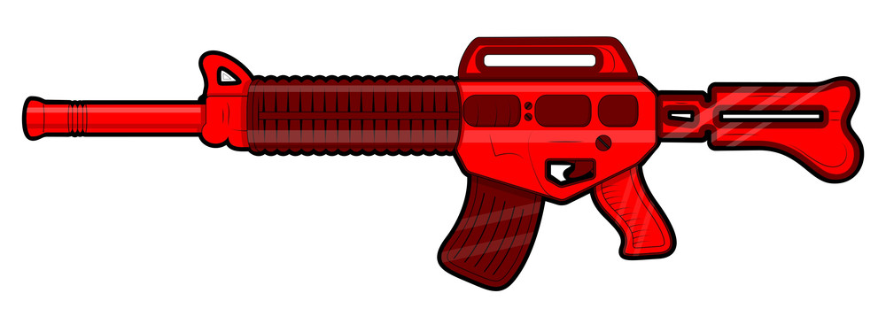 Red Machine Gun