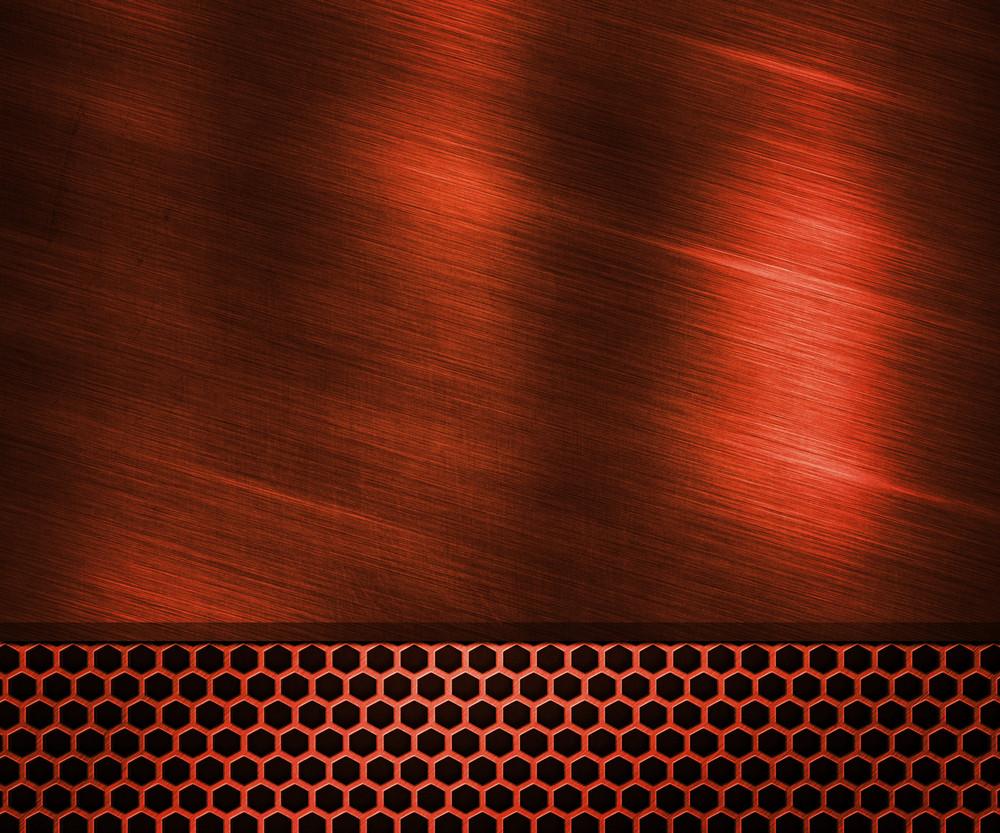 Red Metallic Texture