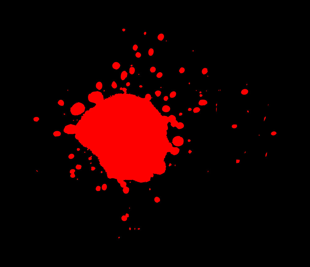 Red Paint Blob