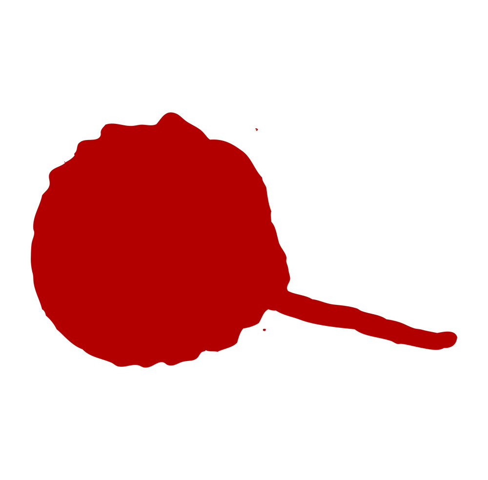 Red Paint Drop