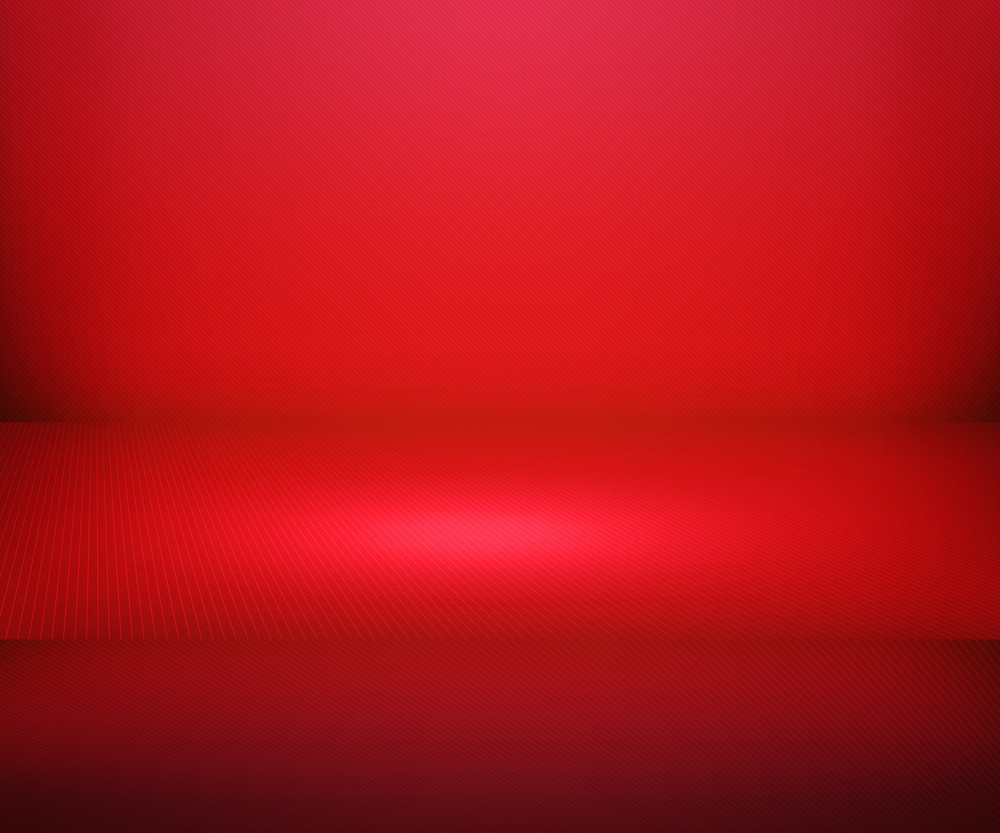Red Simple Spotlight Stage Background