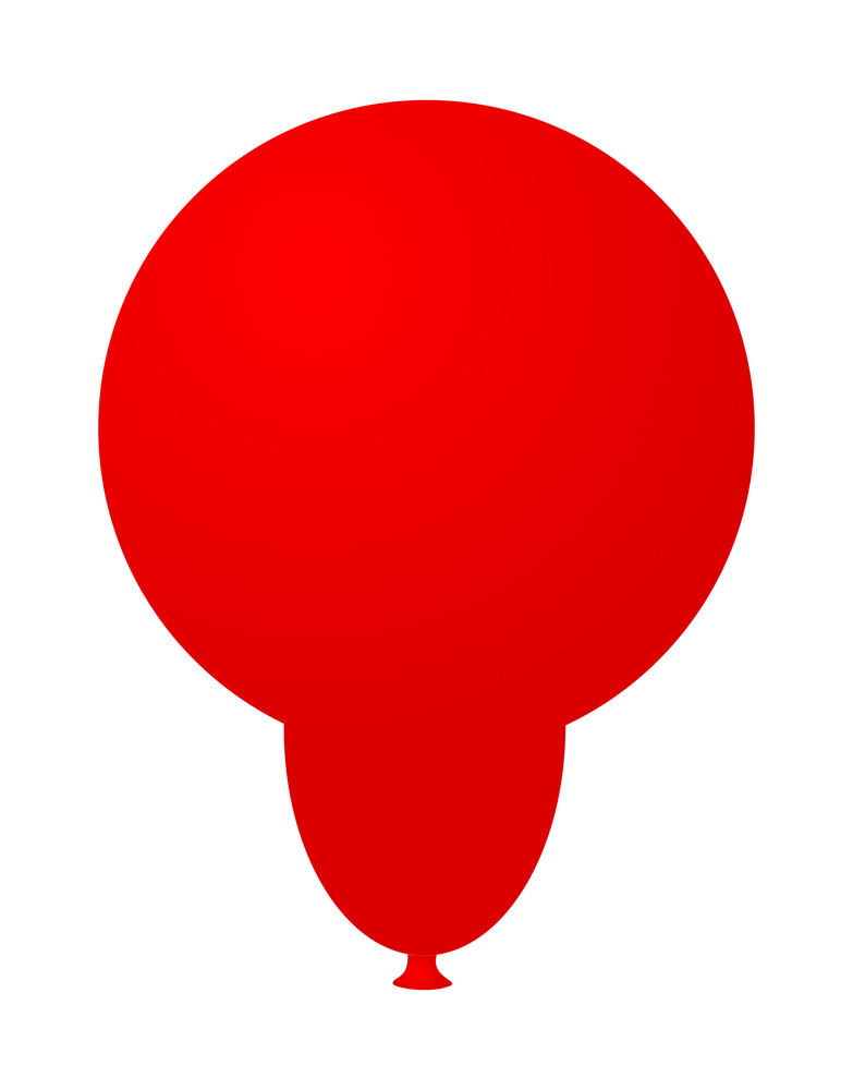 Red Soft Balloon