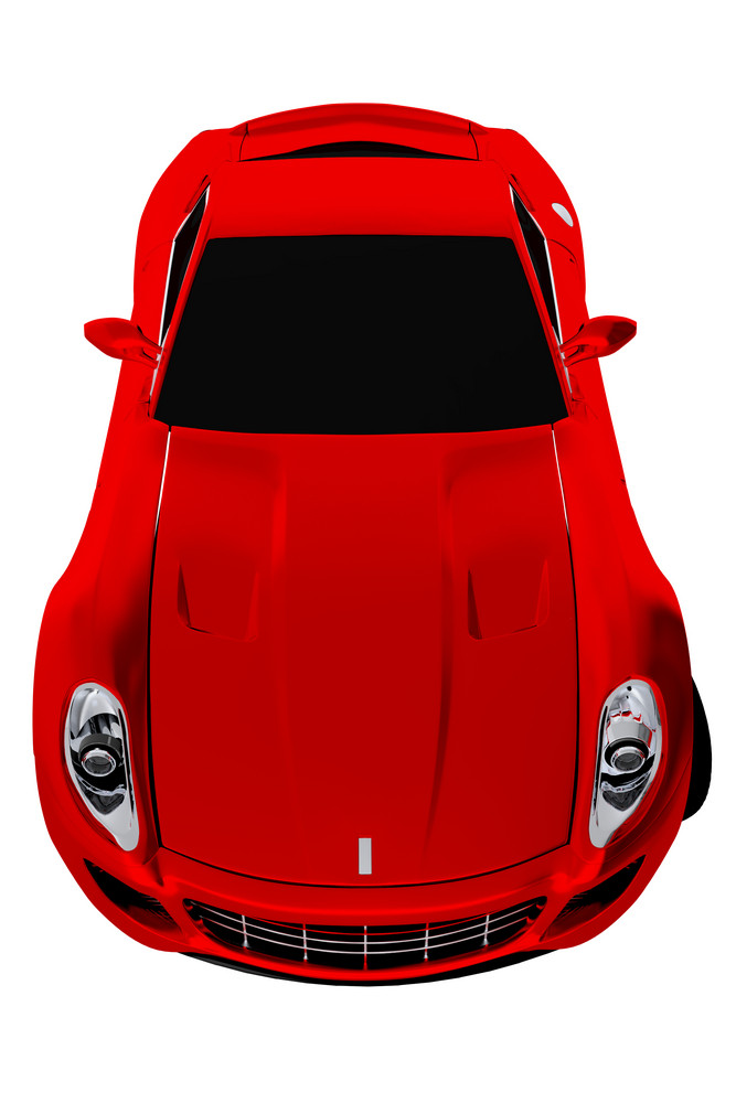 Red Sporty Car