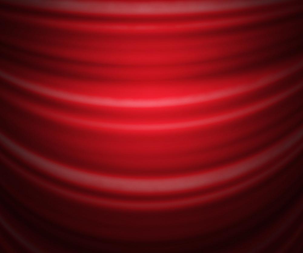Red Studio Backdrop