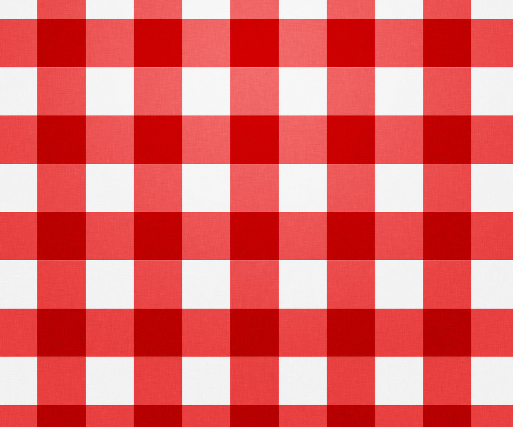 Red Tablecloth Texture