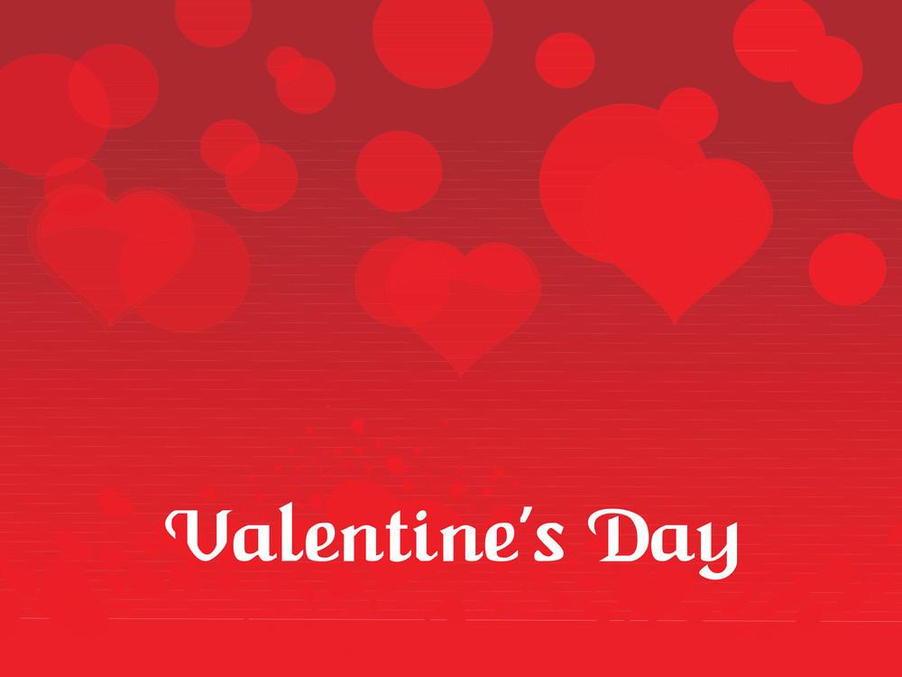 Red Valentine Day Background