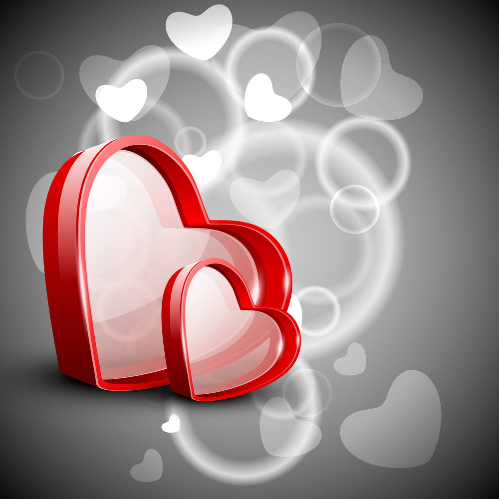 Red Valentine Hearts.