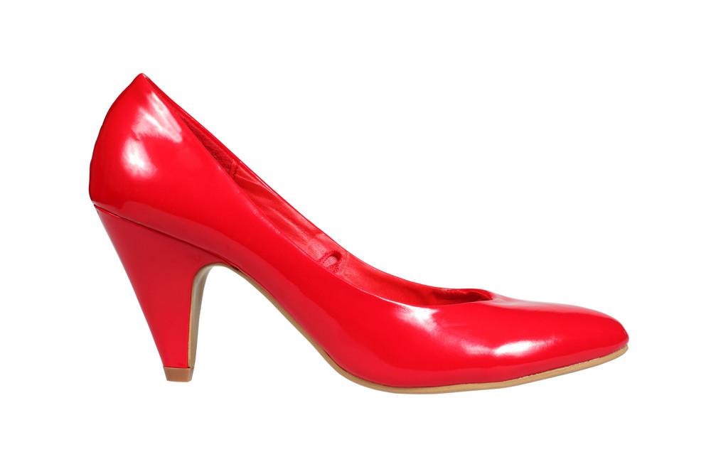 Red Women S Heel Shoe