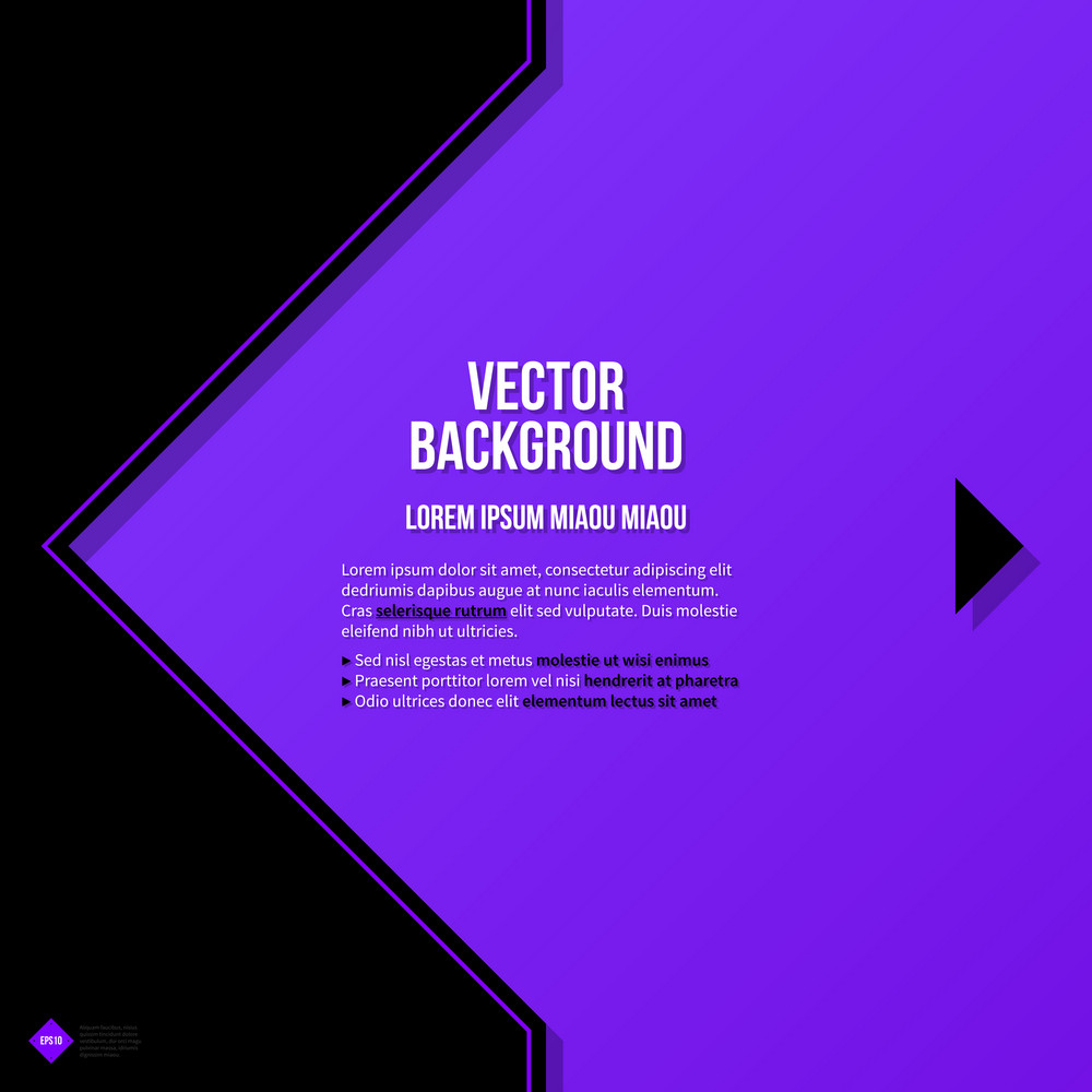 Text Background Template. Eps10