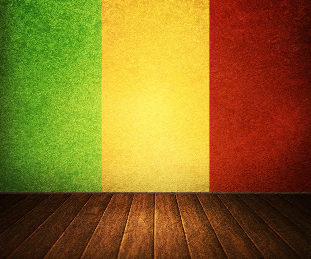 Reggae Stage Interior Background