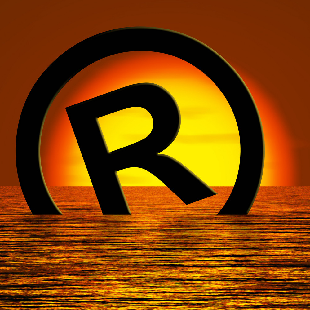 Registered Symbol Sinking Meaning Piracy Or Infringement