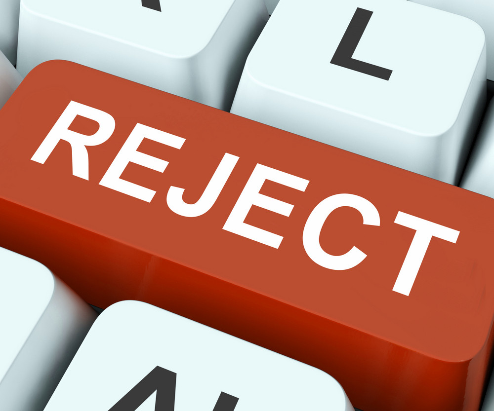 Reject Key Means Decline Or Deny