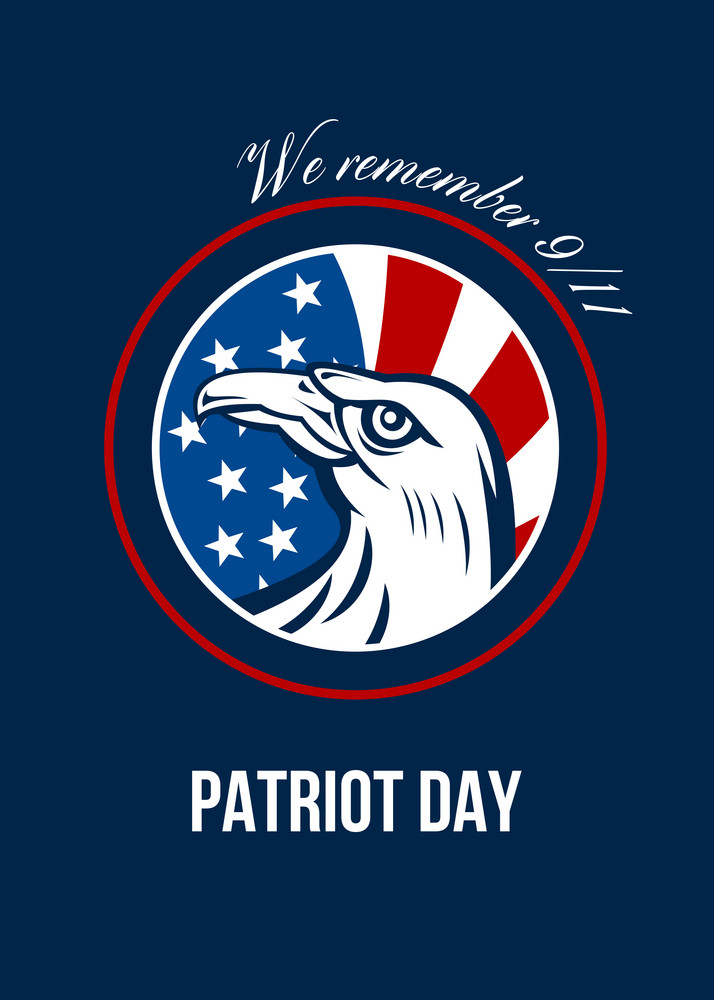 Remember 911 Patriots Day Poster