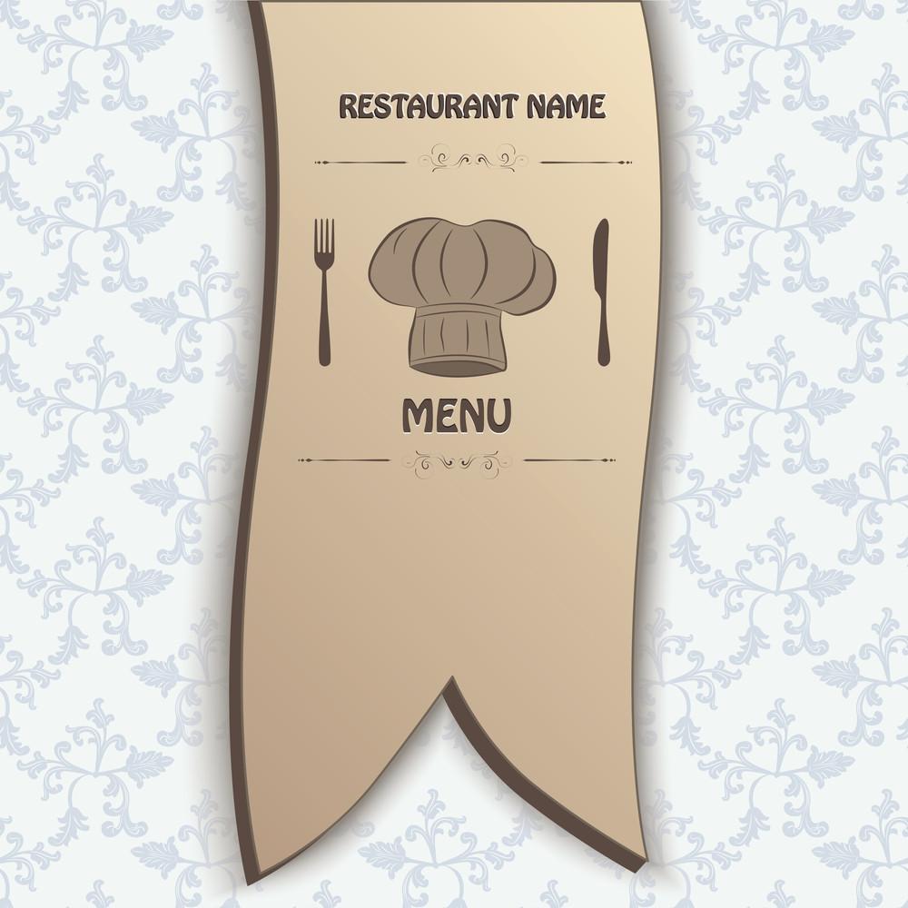 Restaurant Menu Label