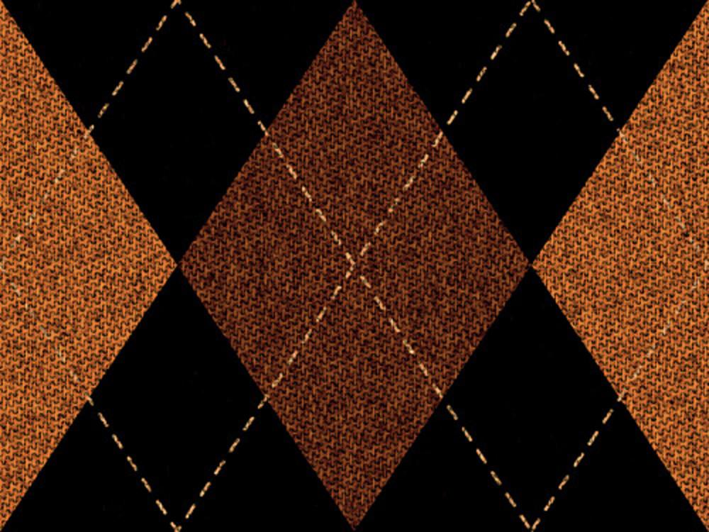 Retro Argyle Fabric Pattern