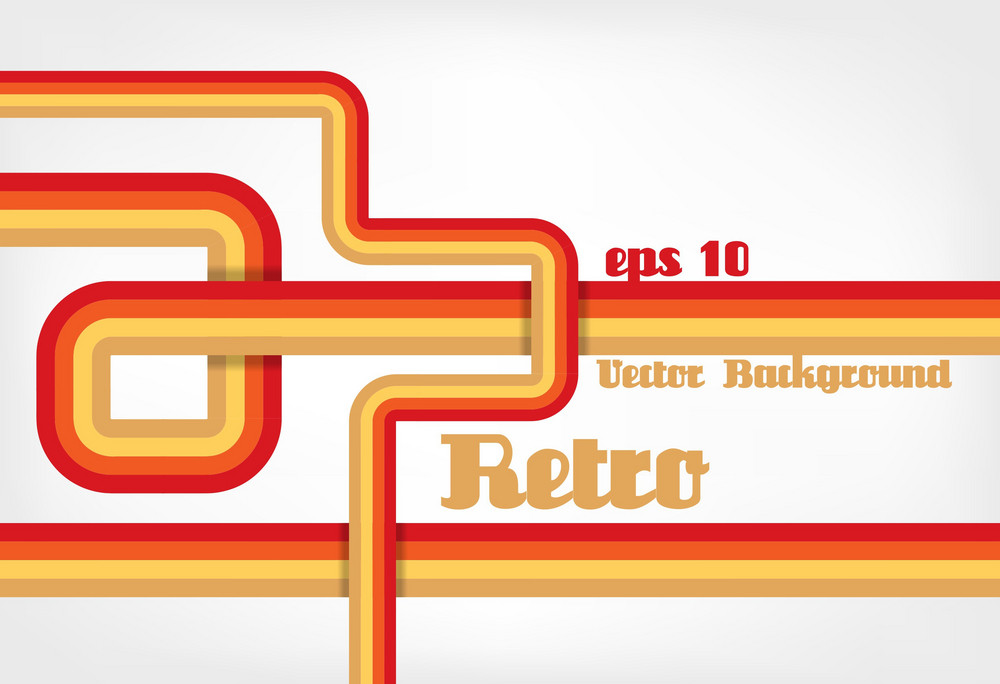 Retro Background Vector Illustration