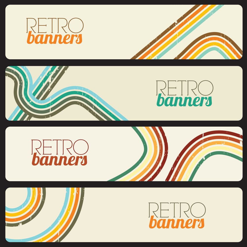 Retro Banners