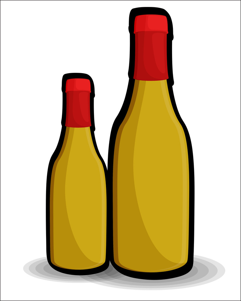 Retro Beer Bottles Vector Designs