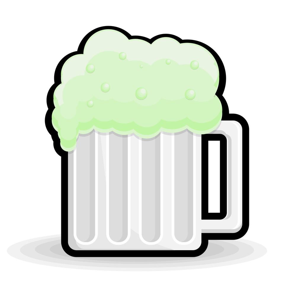 Retro Beer Glass Shape