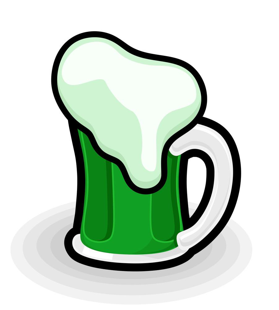 Retro Beer Mug Vector