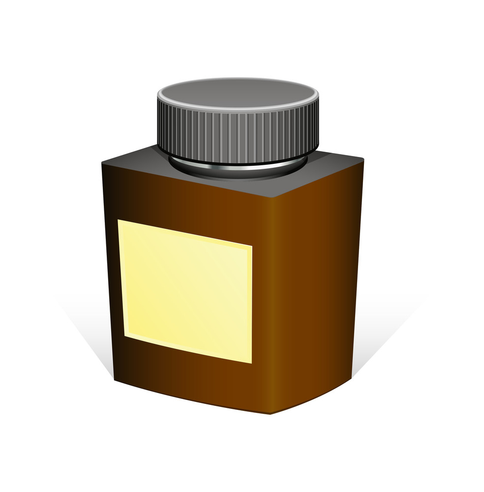 Retro Bottle Vector