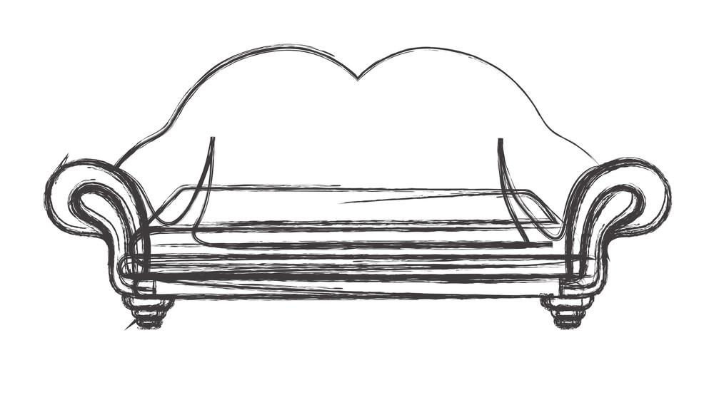 Retro Brush Sofa Design