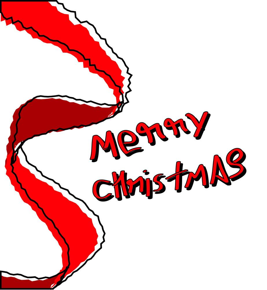 Retro Christmas Banner