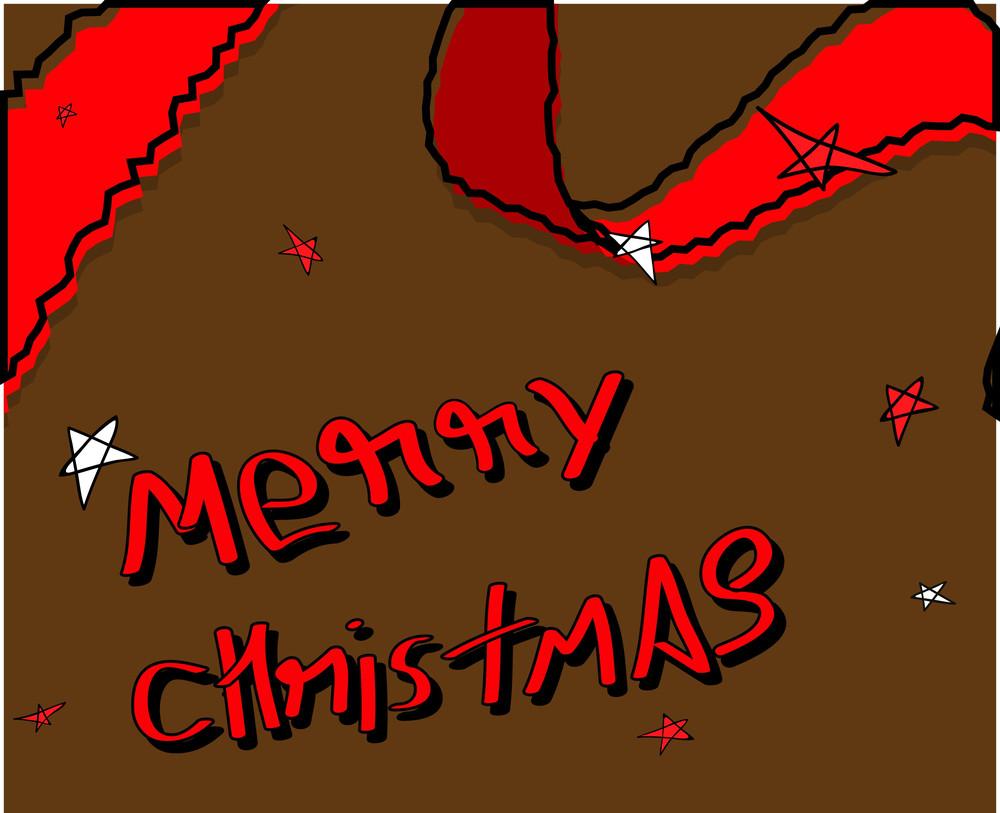 Retro Christmas Graphic Background