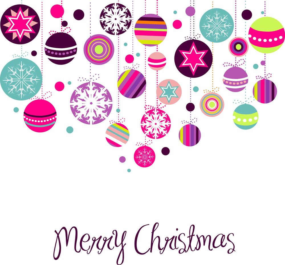 Retro Christmas Ornaments-
