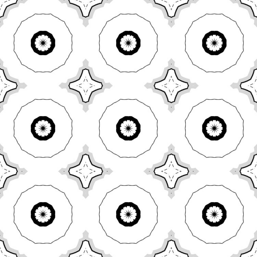 Retro Circles Pattern