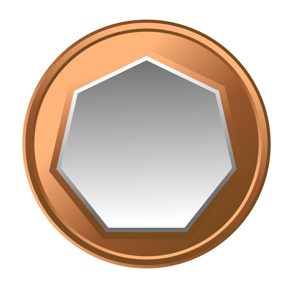Retro Coin Frame Design