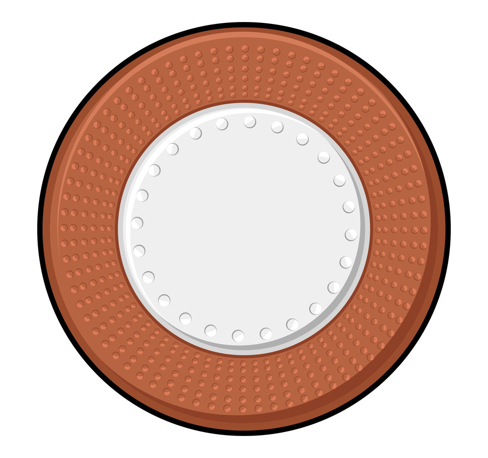 Retro Coin Vector Design