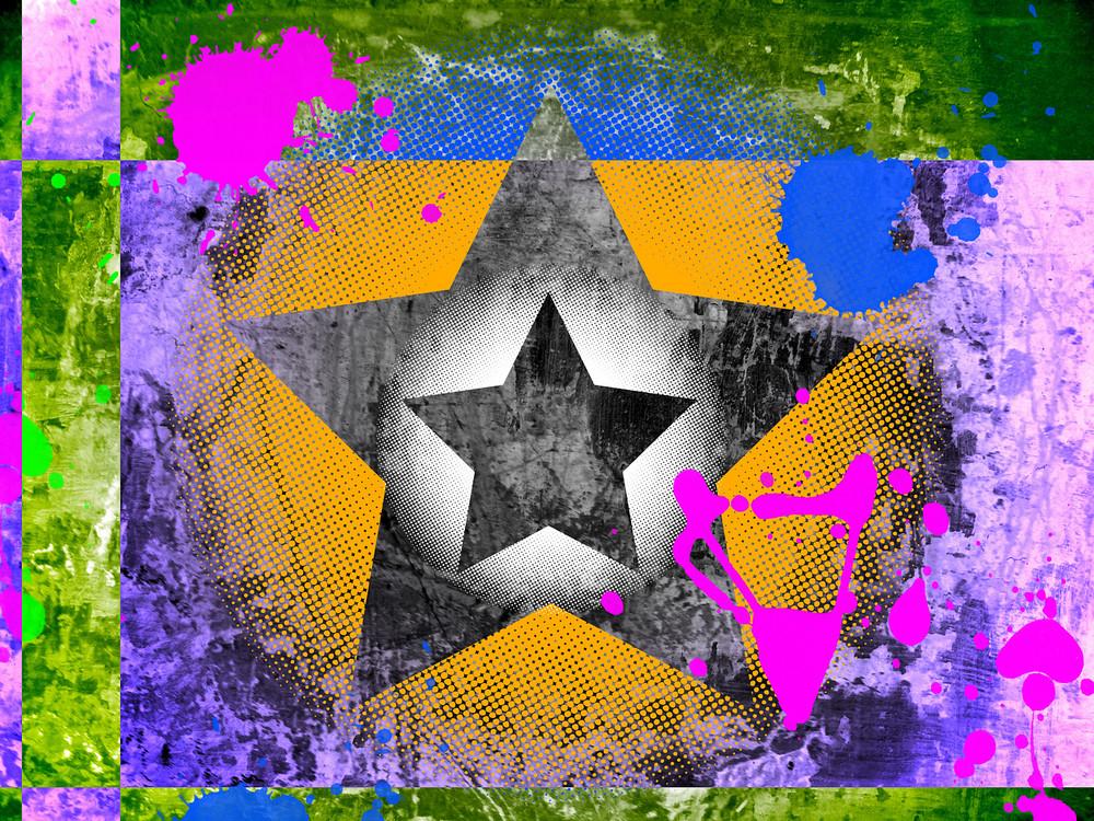 Retro Colored Background