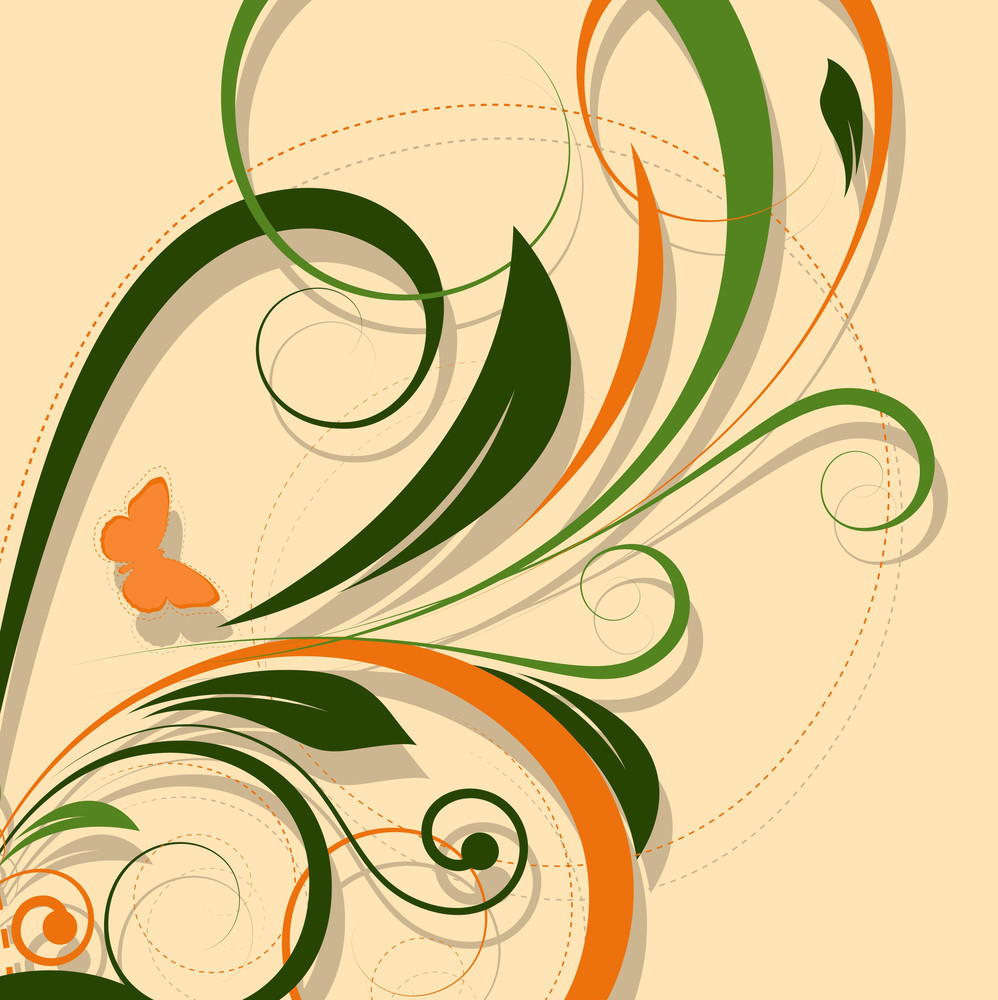 Retro Colored Swirl Designs