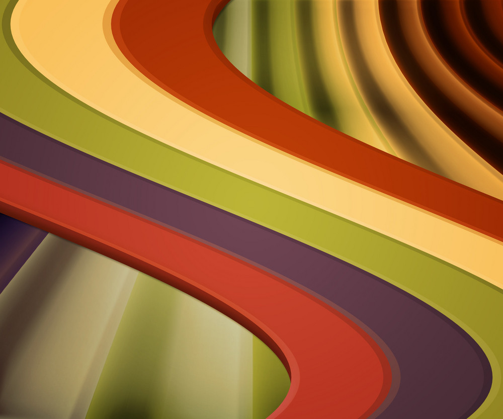 Retro Colorful Abstract Background