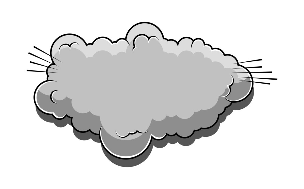 Retro Comic Cloud