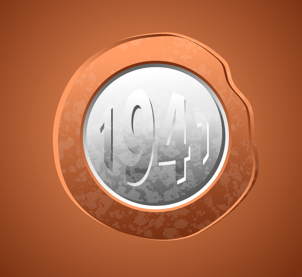 Retro Currency Coin