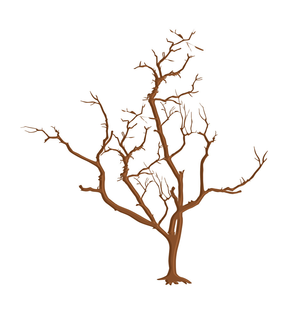 Retro Dead Tree Design