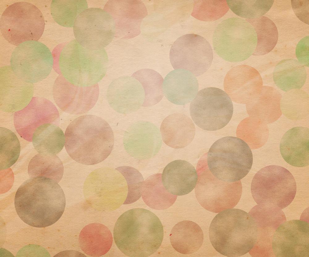 Retro Dots Background Illustration