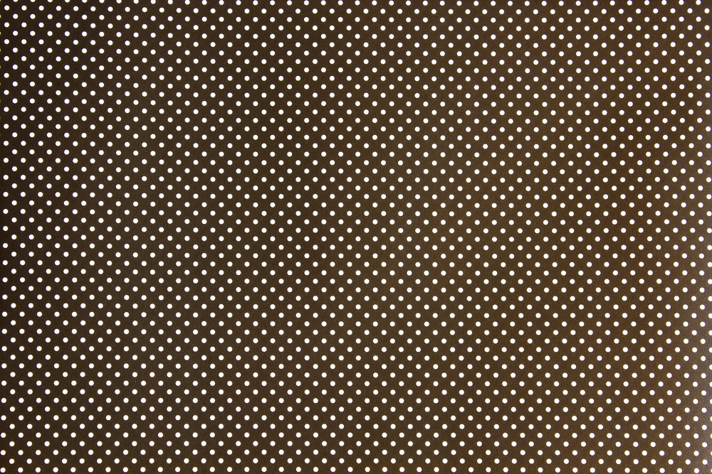 Retro Dotted Pattern Fabric Texture
