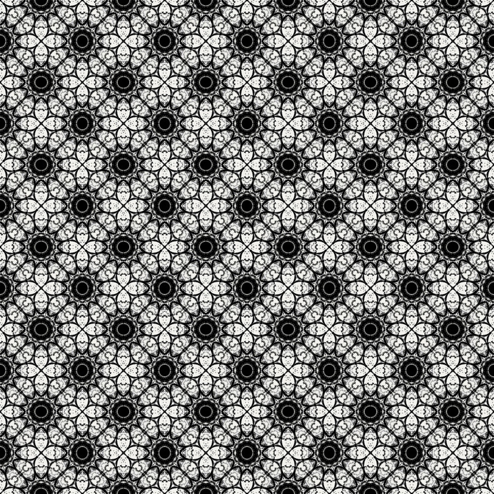 Retro Floral Pattern Bg