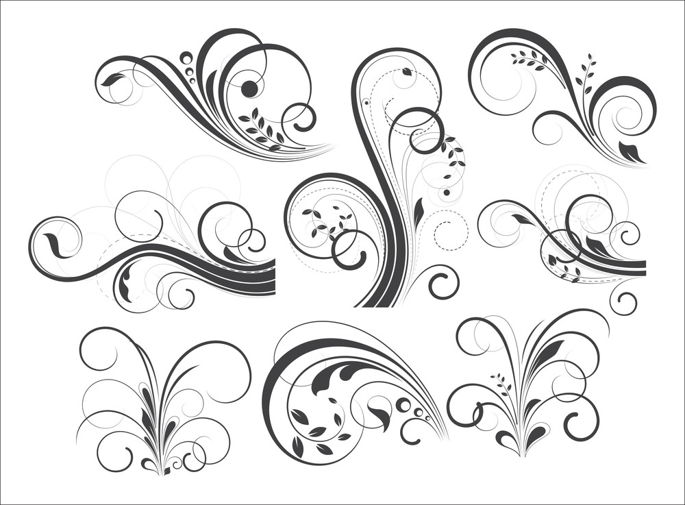 Retro Flourish Designs