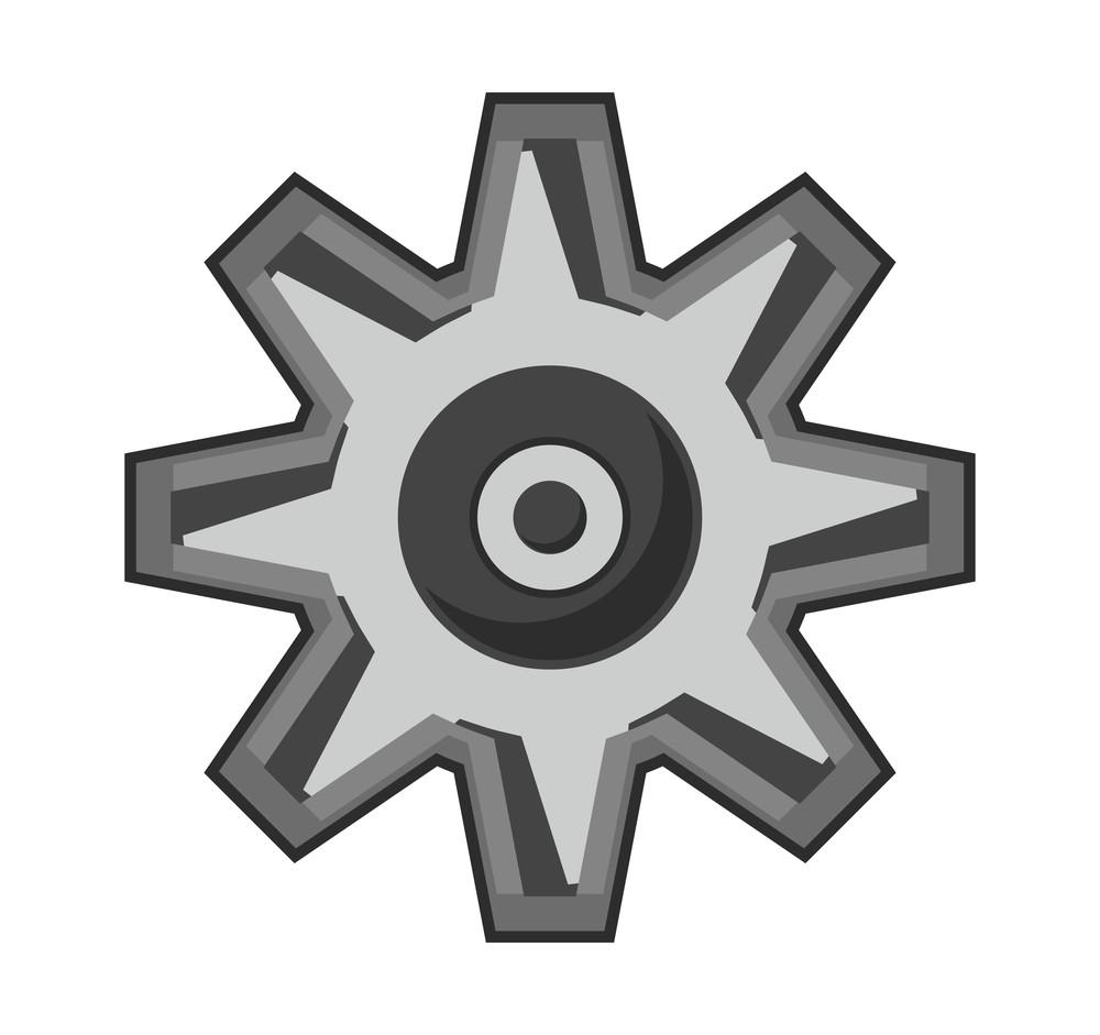 Retro Gear Wheel